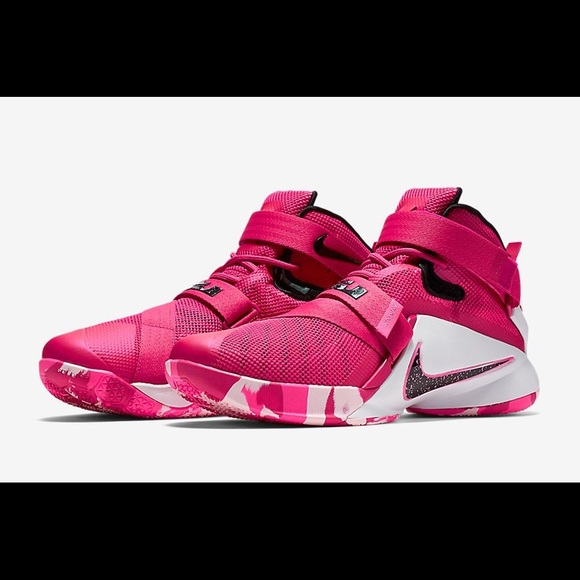 Nike Shoes | Pink Lebron Soldier 9s